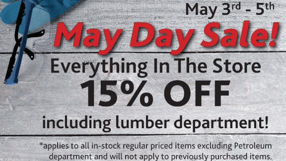 Home Centre 'May Day